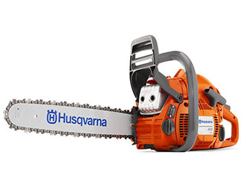 1. Husqvarna 450 18-Inch 50.2cc X-Torq 2-Cycle Chain Saw With Smart Start-Best Gas Chainsaws