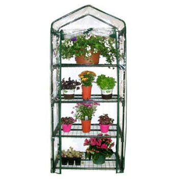 1. Gardman R687 4-Tier Mini Greenhouse-Best Indoor Plant Stands