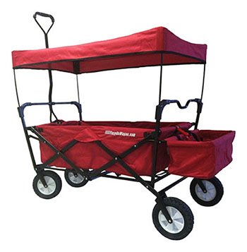 10. THE EASYGOWAGON FOLDING COLLAPSIBLE UTILITY WAGON
