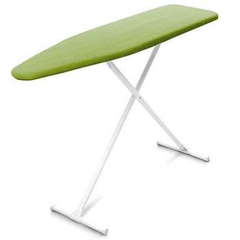10. Homz T- Leg Adjustable Height Ironing board