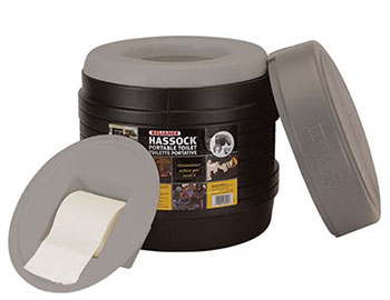 3. RELIANCE PRODUCTS HASSOCK-Best Portable Toilets
