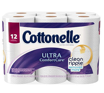 4. Cottonelle Ultra Comfort Care Toilet Paper