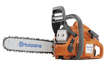 4. Husqvarna 440E 16-Inch 40.9cc 2-Stroke X-Torq Chain Saw-Gas powered