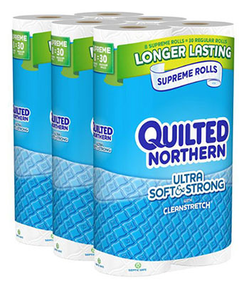 5. Quilted Northern Ultra Soft and Strong Bath Tissue