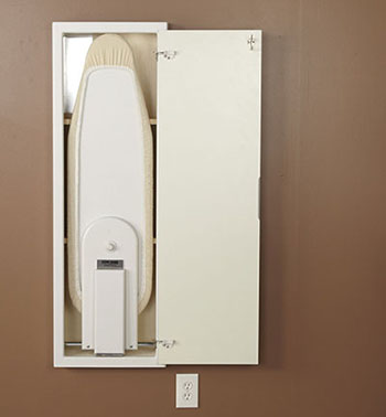 5. Household Essentials Stow Away In- wall Ironing board