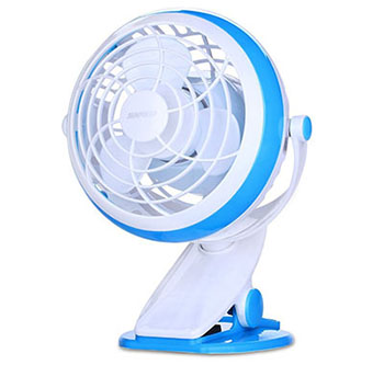 5. Sunpollo Desk Mini Fan