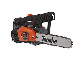 6. Tanaka TCS33EDTP/14 32.2cc 14-Inch Top Handle Chain Saw