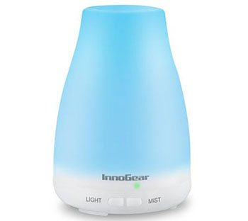 8. InnoGear Portable Ultrasonic Cool-Mist Aroma Humidifier
