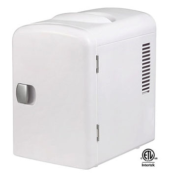 9. Personal 6-Can Mini Fridge by Thermoelectric