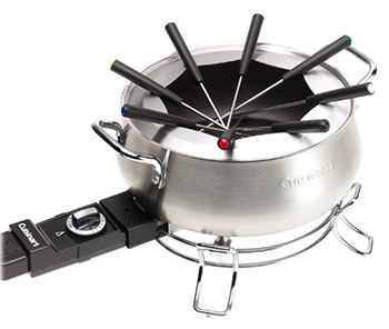 10. Cuisinart CFO-3SSFR Electric Fondue Maker