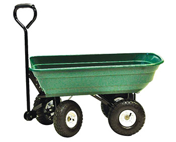 10. Precision LC2000 Garden Yard Cart