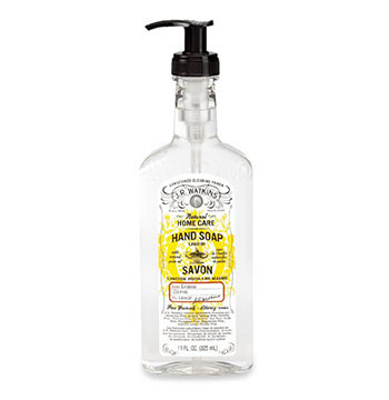10. J.R. Watkins Liquid Hand Soap Lemon