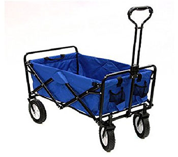 2. Mac Sports Utility Wagon Garden Cart