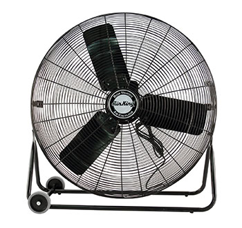 3. Air King 9230 Industrial Grade High-Velocity Pivoting Floor Fan