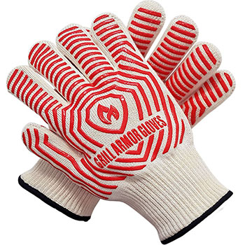 3. Grill Armor Extreme Heat Resistant Oven mitts-932ºF