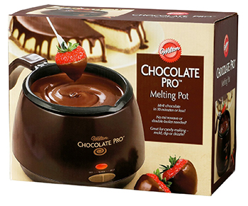 4. Wilton Chocolate Pro Electric Melting Pot