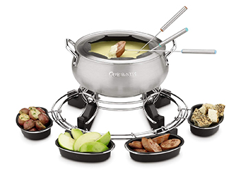 5. Cuisinart CFO-1000 Lazy Susan Electric Fondue Maker
