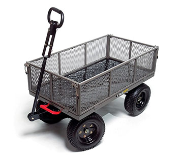 5. Gorilla Carts Gormp- 12 Steel Dump Cart