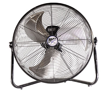 5. Maxxair HVFF 20 UPS High-Velocity 20-Inch Floor Fan