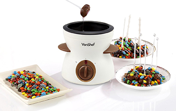 6. VonShef Electric Chocolate Fondue Melting Pot, Warmer, Chocolatier