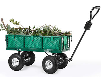 6. Vonhaus Heavy Duty Garden Cart