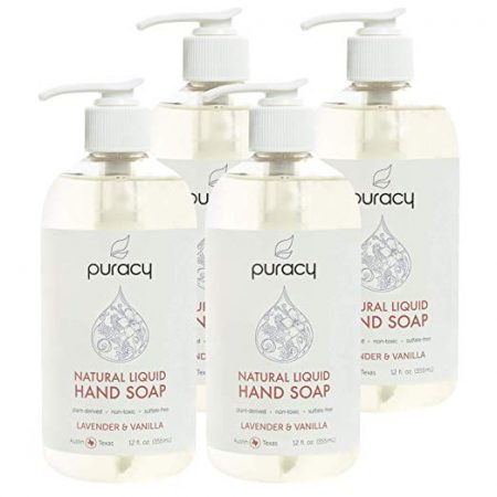 6. Puracy Natural Liquid Hand Soap