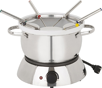 8. Trudeau Alto 3 In 1 Electric Fondue Set