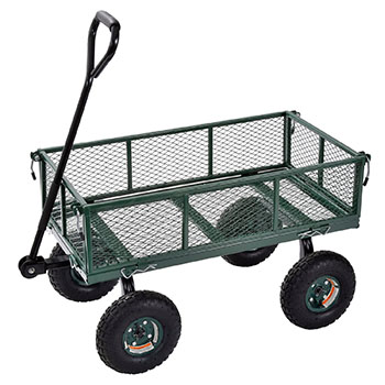 8. Sandusky Lee Wagon Cart-Best Garden Carts