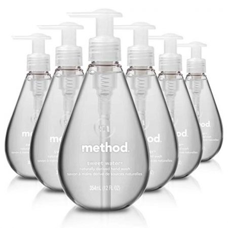 8. Method Gel Hand Soap Sweet Water 12 Ounce