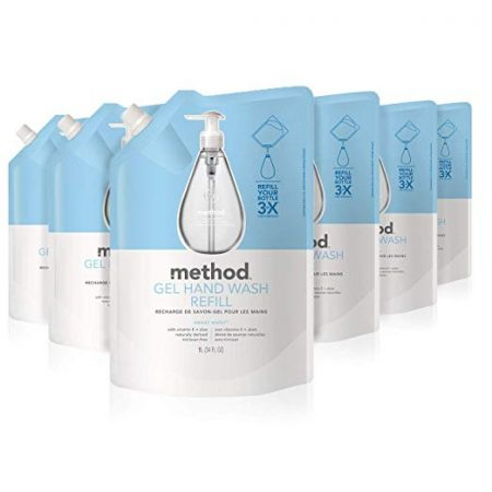 9. Method Gel Hand Soap Sweet Water Refill