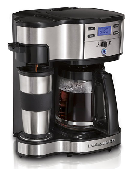 1. Hamilton Beach 49980Z Two Way Brewer-Best Coffee Machines