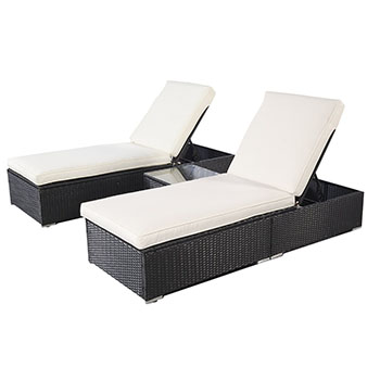 10. Tangkula Furniture Pool Chaise Lounge Chair