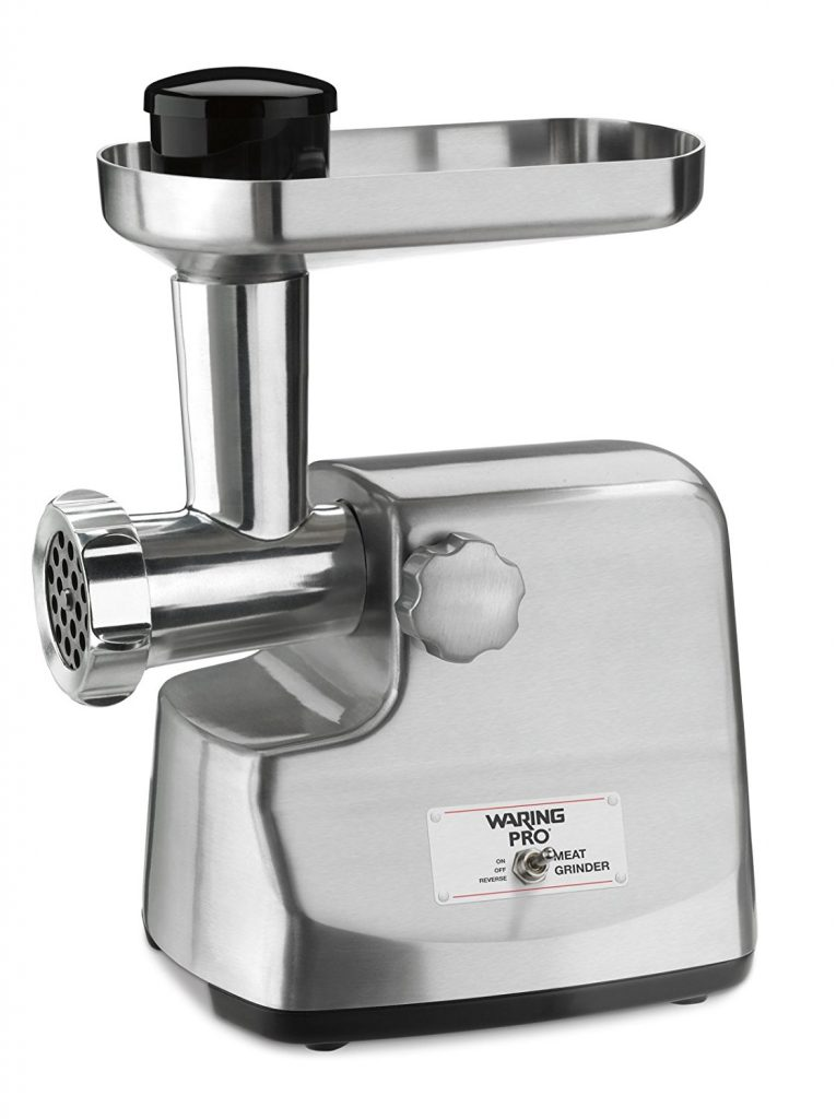 10. Waring Pro MG855 Professional Meat Grinder