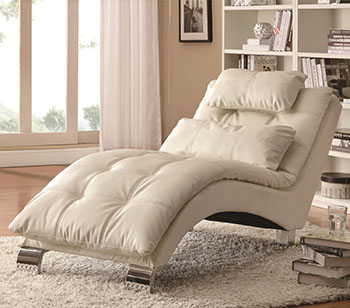 2. Coaster Home Furnishings Contemporary Chaise-Best Chaise Lounges