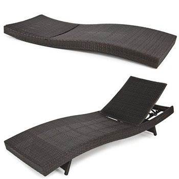 3. Best Choice Products Chaise Lounge Chair