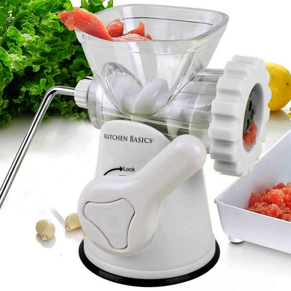 3. Kitchen Basics 3-in-1 Meat Grinder and Vegetable Grinder/Mincer