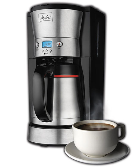 4. Melitta Programmable Coffee Maker