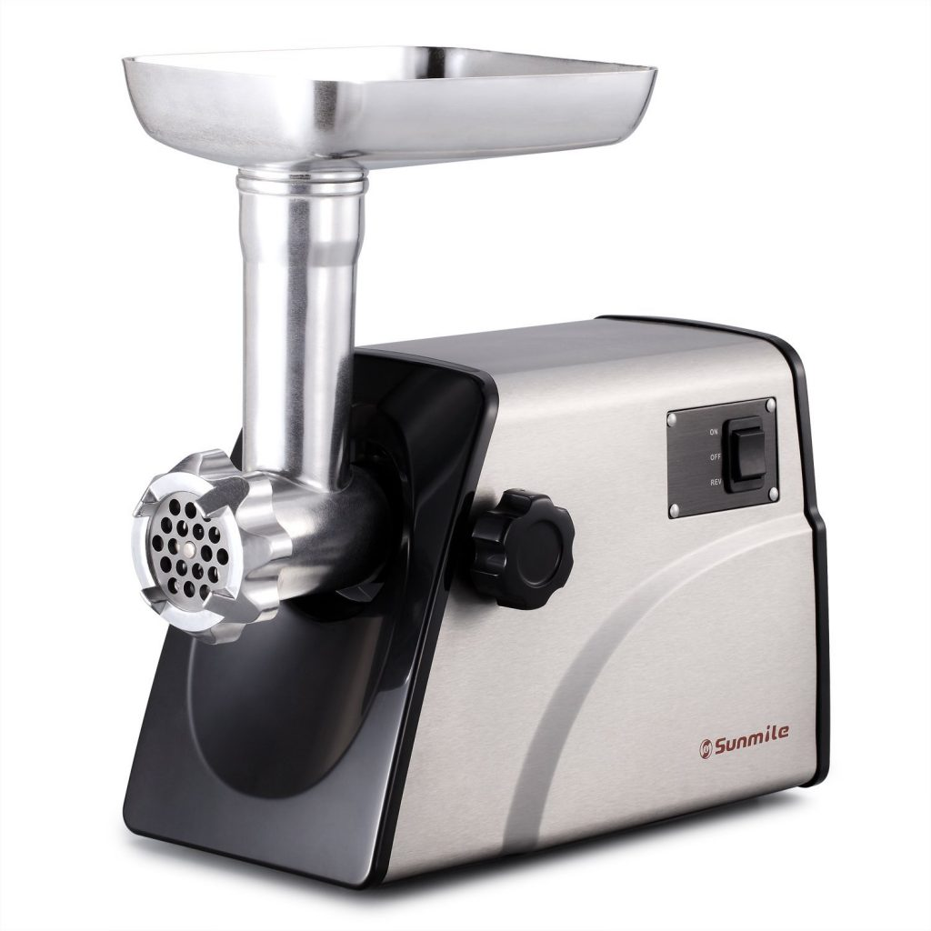 4. Sunmile SM-G33 ETL Electric Stainless Steel Meat Grinder