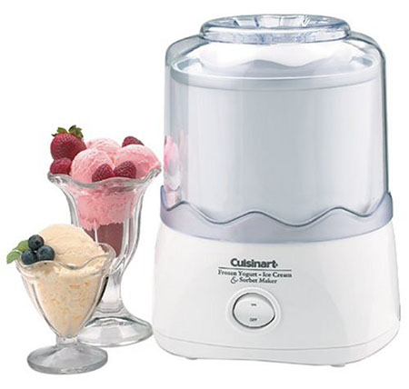 6. Cuisinart ICE-20 Automatic 1-1/2-Quart Ice Cream Maker