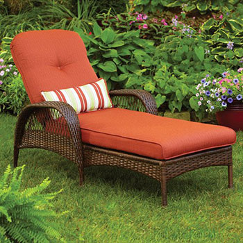 7. Better Homes Azalea Chaise Lounge