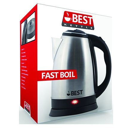 9. Best Electric Tea Kettle (RAPID BOIL TECHNOLOGY)
