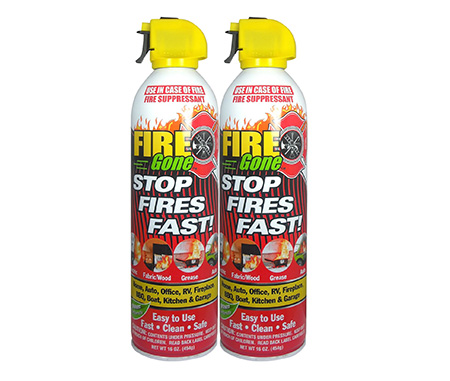 3. Fire Gone 2NBFG2704 - Best Fire Extinguishers in 2018 Reviews
