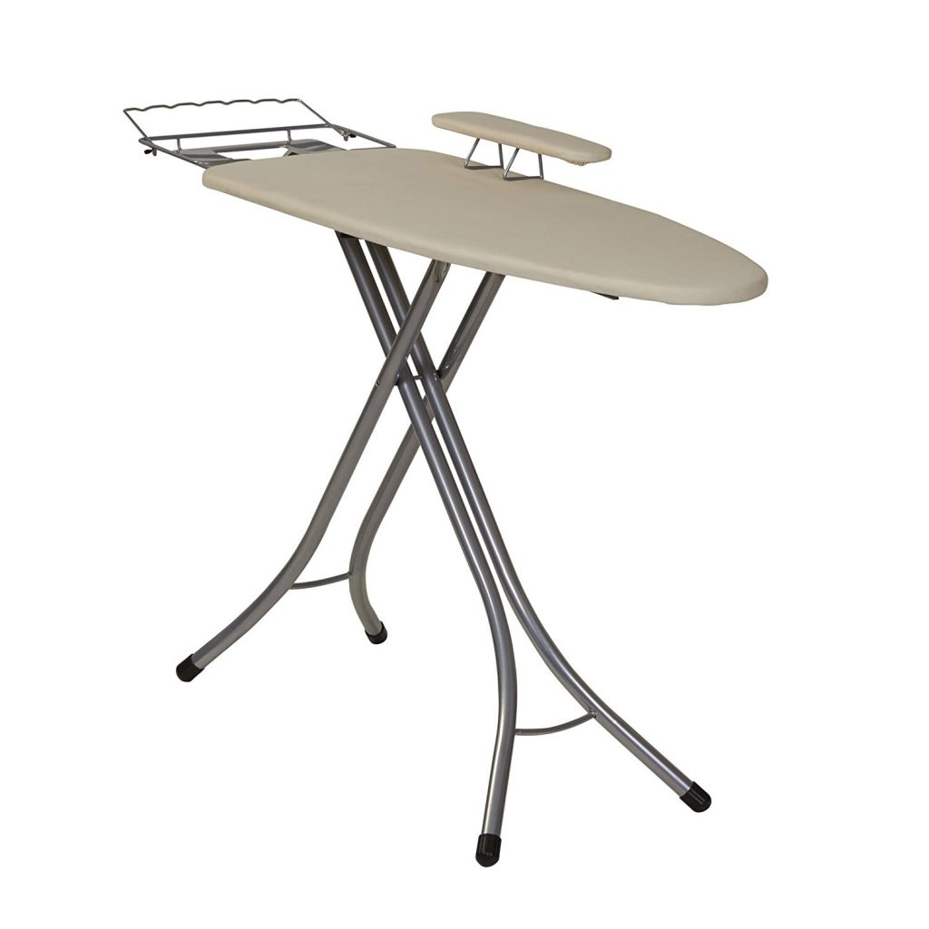 3. Household Essentials 971840-1 Wide Top 4-Leg Mega Ironing Board