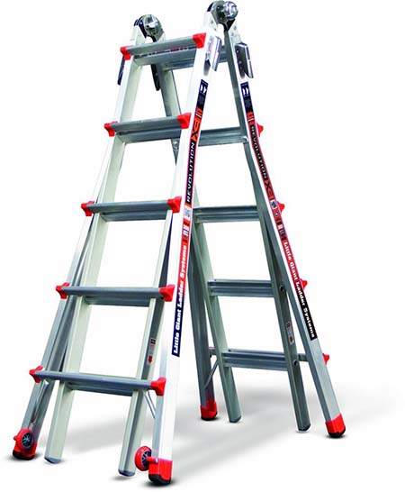 3.Little Giant 12022 RevolutionXE Multi-Use Ladder