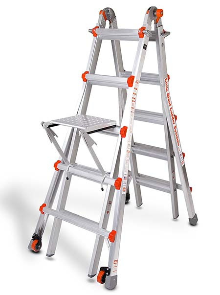 4.Little Giant Classic 10103LGW Duty-Rating Ladder System