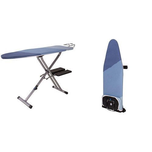 4. HOUSEHOLD ESSENTIALS Fold Away Space Saver Wide Top Ironing Board