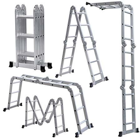 5.Light Weight Multi-Purpose 12' Aluminum Ladder