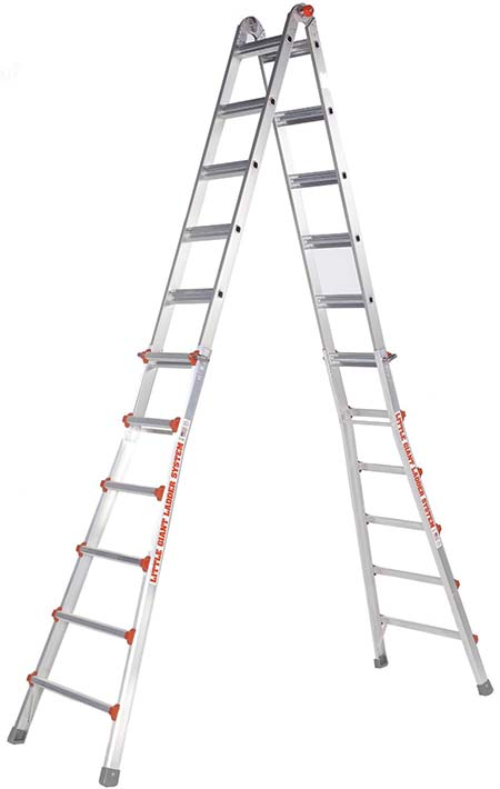 6.Little Giant 10126LG 300-Pound Duty Rating Ladder System