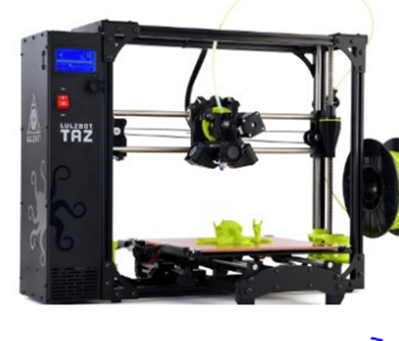 7. LuIzBot TAZ 6 3D Printer