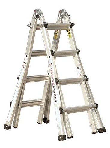 7.Vulcan Ladder USA ES-17T11G1 17-Feet Multi Task Ladder